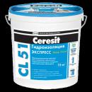 Ceresit cl 51. Эластичная гидроизоляционная мастика розница 5кг