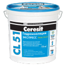Ceresit cl 51. Эластичная гидроизоляционная мастика розница 25кг