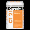 Ceresit ct 21. Клей для кладки блоков из ячеистого бетона 25кг розница