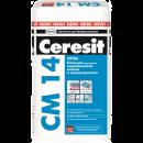 Ceresit cм 14 extra. Клей для керамической плитки и керамогранита 25кг розница розница