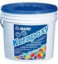 Двухкомпонентная затирка для плитки Mapei Kerapoxy № 100 белый, ведро 5 кг.