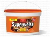 Акриловая супербелая моющаяся краска Superweiss розница 10л